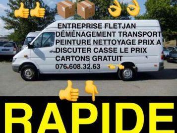 Demenagement transport peinture nettoyage prix cassé